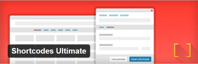 shortcodes ultimate plugin