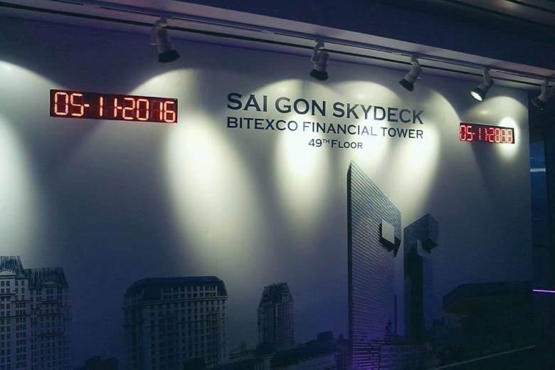 Saigon Skydeck Bitexco Tower, a must visit