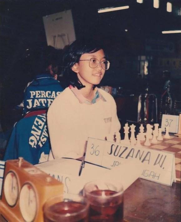 Suzana Widiastuti - Kejurnas Catur 1990