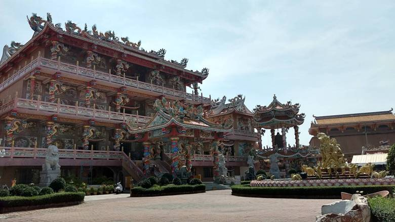 Nha Ja Sa Tai Jue Shrine Chinese Temple