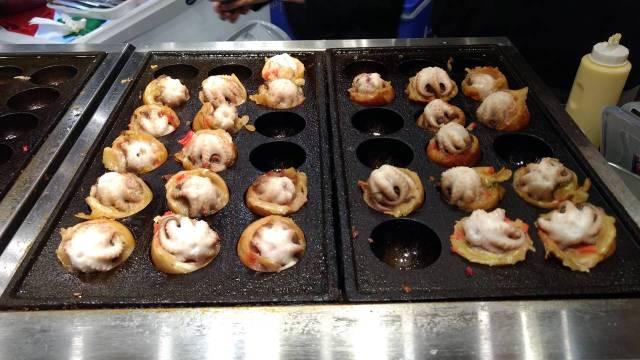 Baby Octopus Takoyaki