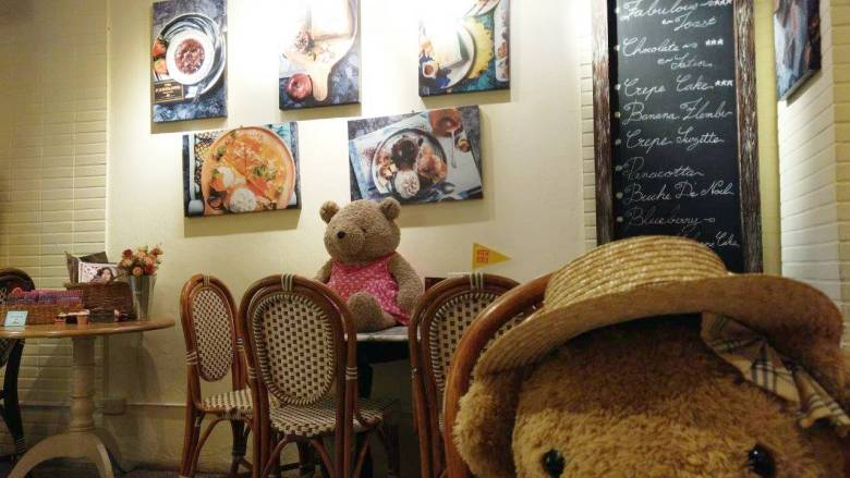 Teddy Bear di The Fabulous Dessert Cafe Bangkok