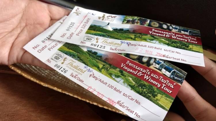 Winery Tour PB Valley Khao Yai