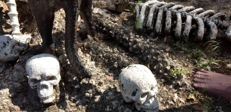 [4th Anniversary Trip] Menyaksikan Siksa Neraka di Wang Saen Suk Hell Garden