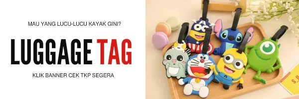 Luggage Tag Lucu