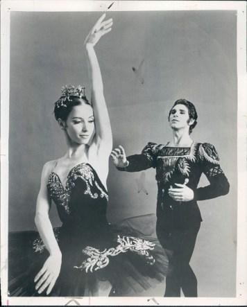 Natalia Makarova si Ivan Nagy