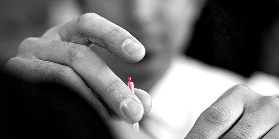 Serin Needle in Sharp Relief © 2013 Eric Strand