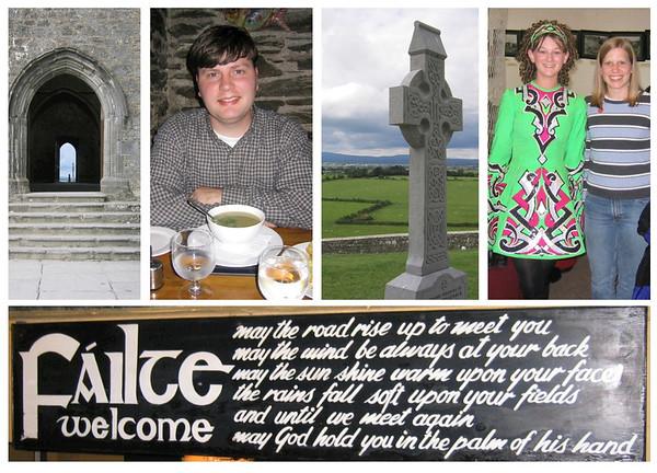 Ireland collage