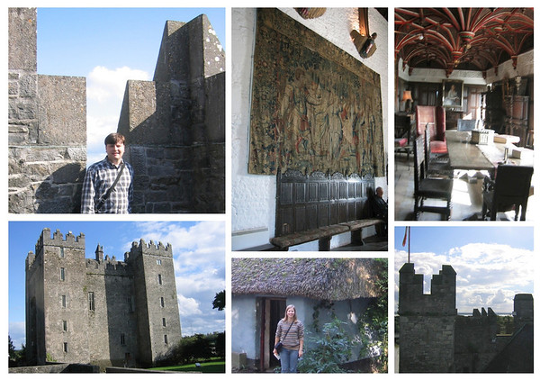 Bunratty collage