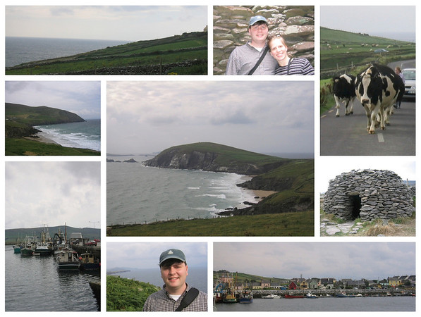 Ring of Dingle collage