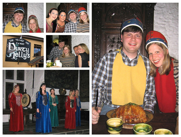 Bunratty banquet collage