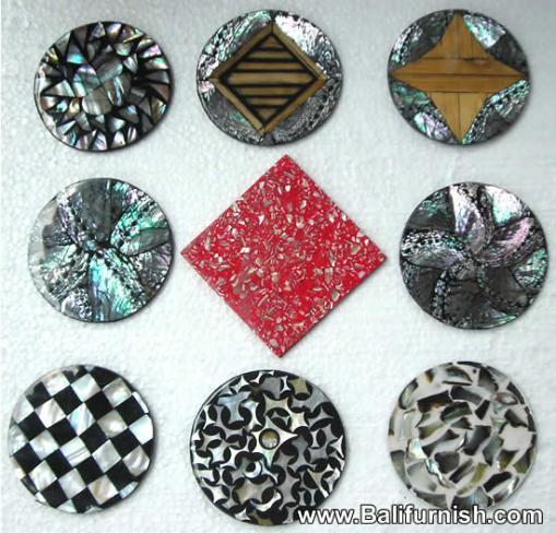resin-sea-shell-coasters-bali