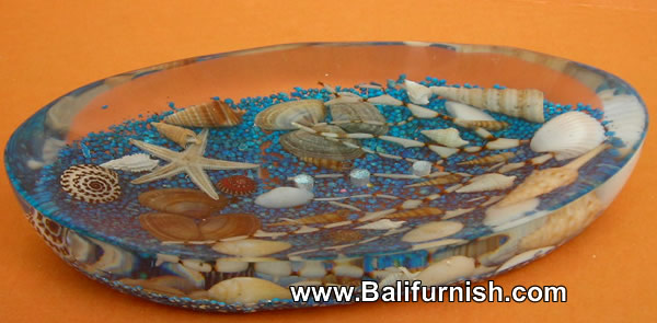 Resin and Sea Shell Soap Holders