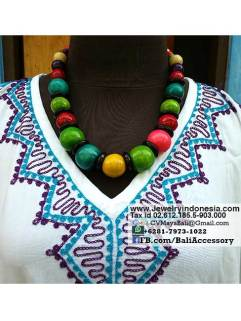 Wooden Beaded Necklaces