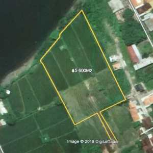 Beach front Land 5600 sqm for sale