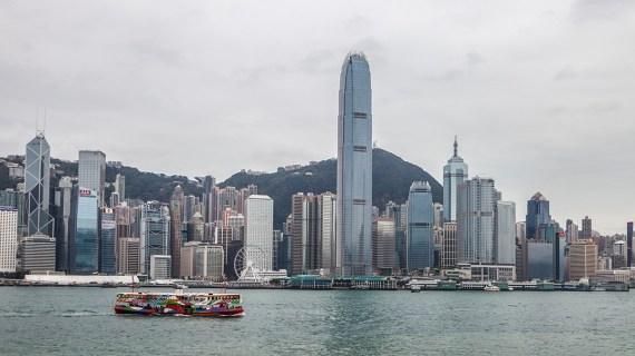 Hongkong-von-Nord-nach-Sued