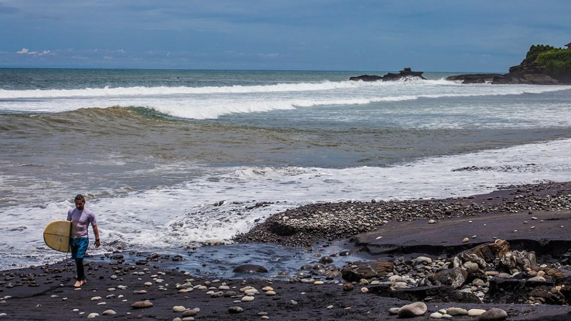 Bali-Balian-Beach-surfen