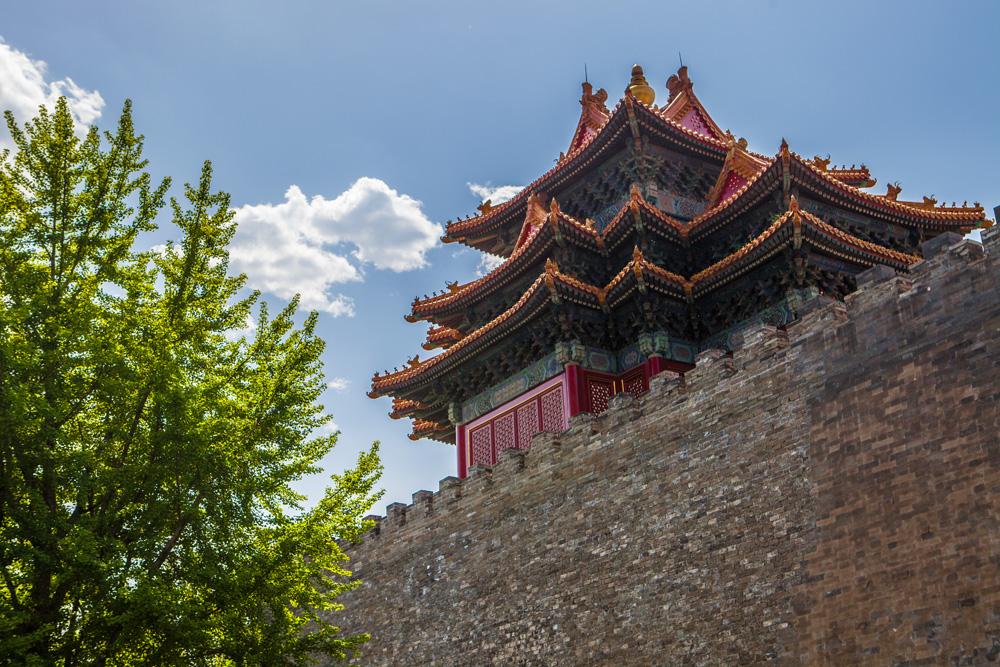 Peking-Verbotene-Stadt-Stadtmauer
