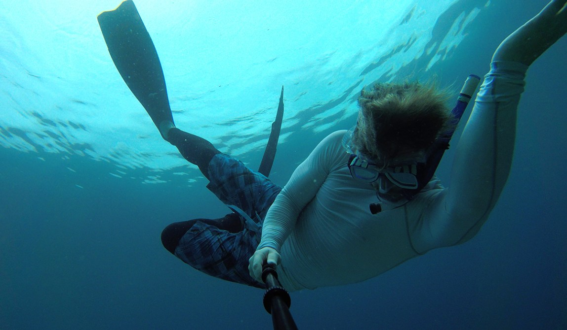 Semporna - Borneo - Malaysia - Island - Underwaterselfie