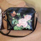 pouch wanita hitam