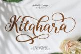 Last preview image of Kitahara Casual Script Demo Version