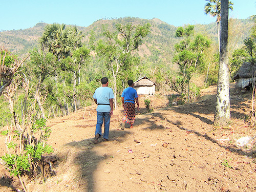 Banjar Ancut Poor Village with Fresh Water Difficulties