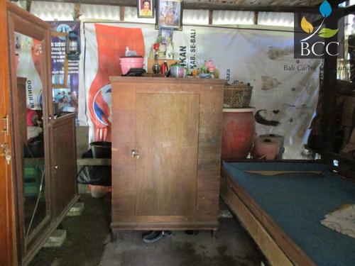 Ketut Karang lansia miskin di Br Bau Kawan Desa Nawa
