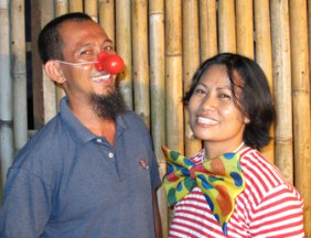Bali Circus Smile and Big Bow