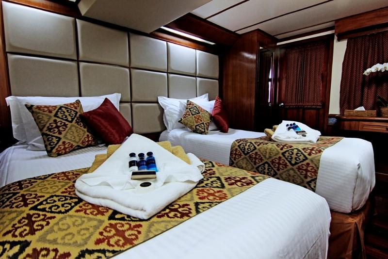 Indoor standard cabin