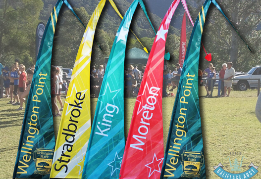 School Flags for Wellington Point State School