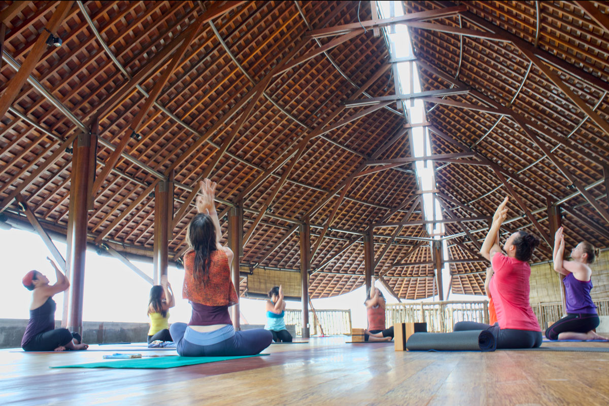 Bali Yoga Retreats  Spa Wellness  Floating Leaf
