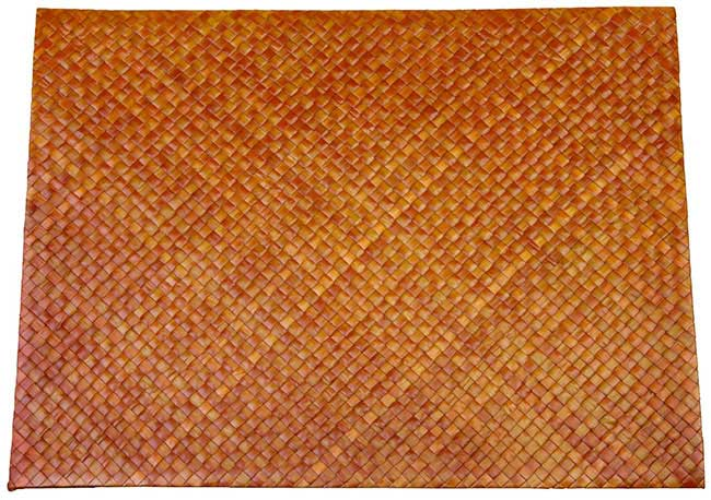 MAT13 Natural Straw Placemats Bali Straw Mats and Table