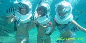 Bali SeaWalker Tour - Water Sports Packages at Sanur Beach Bali