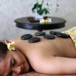 warm stone massage, bali green tour, bali orchid spa