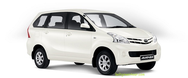Toyota Avanza Bali Car Rental With Drivers