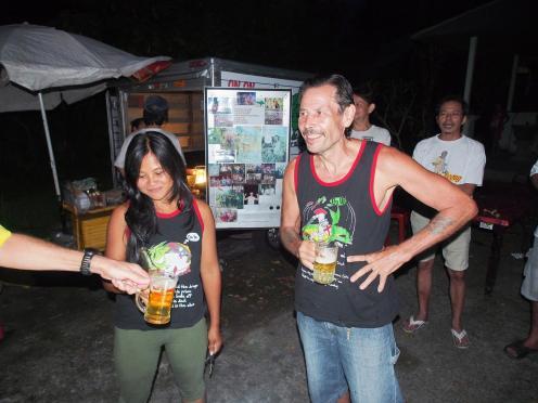 Bali Hash 2 Hash Trash Run #1317 St George's Day Run