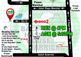 BHHH2 Run 1325 Mambal Swimming Pool 17-JUNE-2017