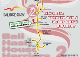 BHHH2 Run 1335 Merdeka Run 2017 Bali Bird Park