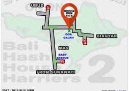 BHHH2 Run 1340 Goa Gajah Gianyar 30-Sep-17