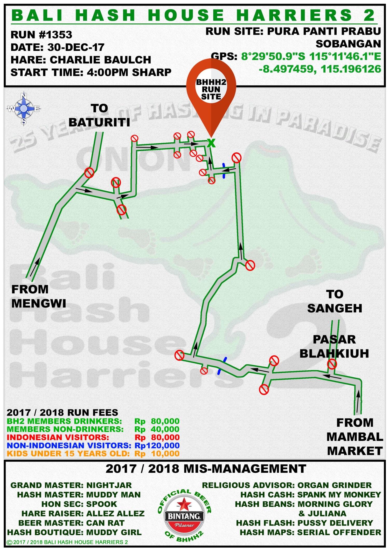 BHHH2 Run 1353 Sobangan 30-Dec-17