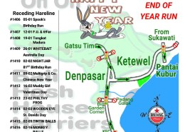 Bali Hash 2 Next Run Map #1405 Pantai Kubur Ketewel 29-Dec-18