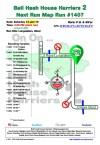 Bali Hash 2 Next Run Map #1407 Lungsiakan Ubud 12-Jan-19
