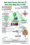 Bali Hash 2 Next Run Map #1409 Tempaksiring 26-Jan-19