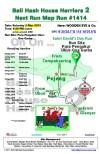 Bali Hash 2 Next Run Map #1414 Pura Ukur Ukuran