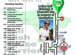 Bali Hash 2 Next Run Map #1422 Keliki Tagalalang