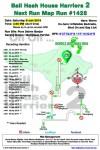 Bali Hash 2 Next Run Map #1428 Pura Dalem Banjar Karang Dalem I Bongkasa Pertiwi