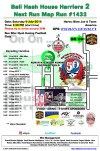 Bali Hash 2 Next Run Map #1432 Nyuh Kuning Football Field 4th of July Run