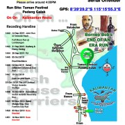 Bali Hash 2 Next Run Map #1441 Taman Festival Padang Galak