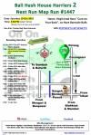 Bali Hash 2 Next Run Map #1447 Taman Beji Desa Samuan