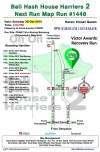 Bali Hash 2 Next Run Map #1448 PDAM TIRTA WENING BELUSUNG PEGUYANGAN